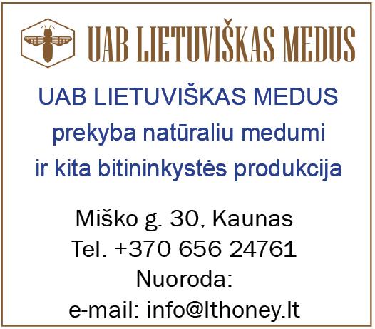 lietuviskas medus