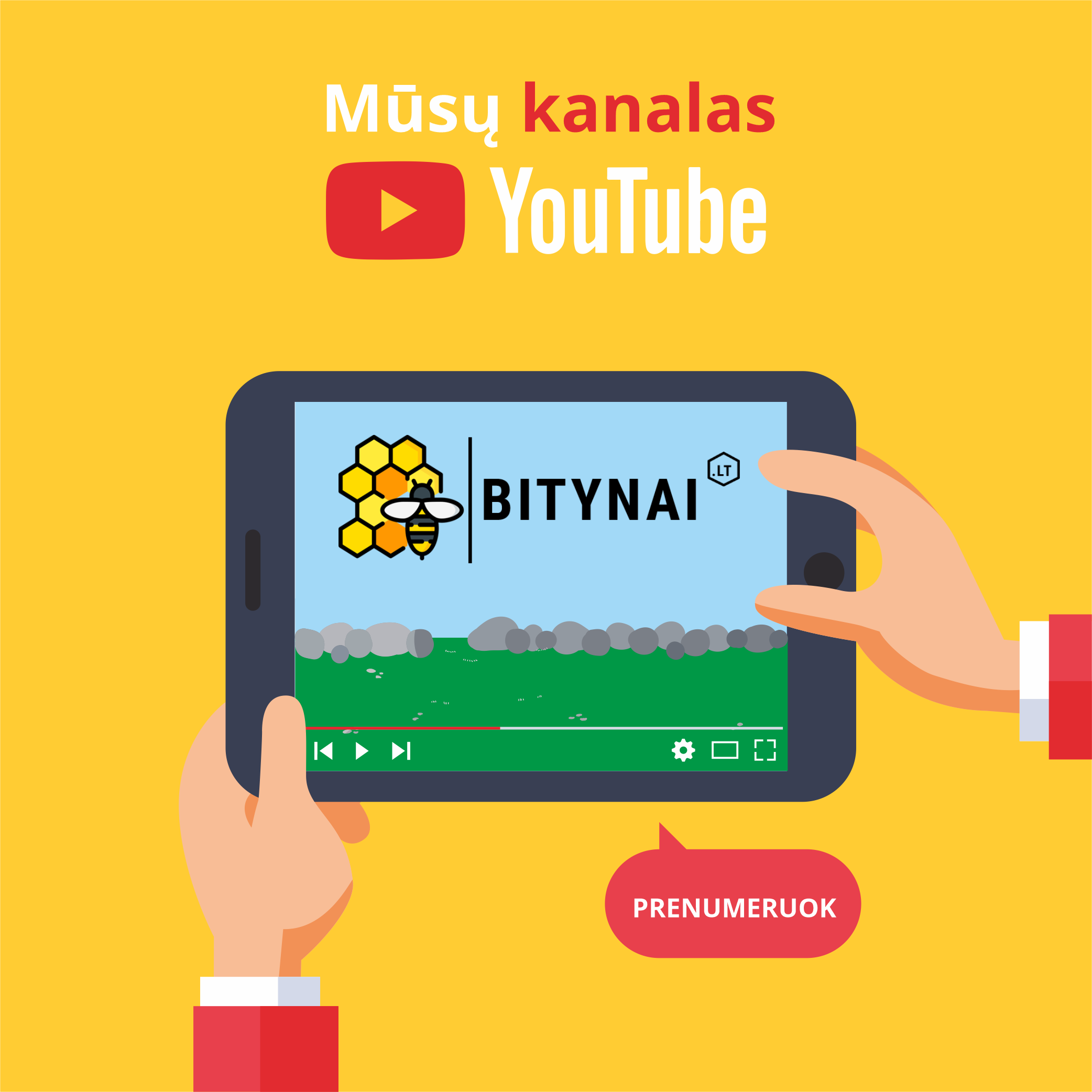Youtube kanalas Bitynai.lt